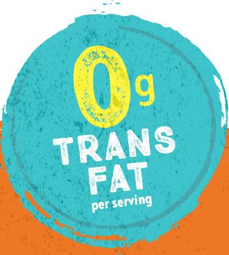 zero trans fats