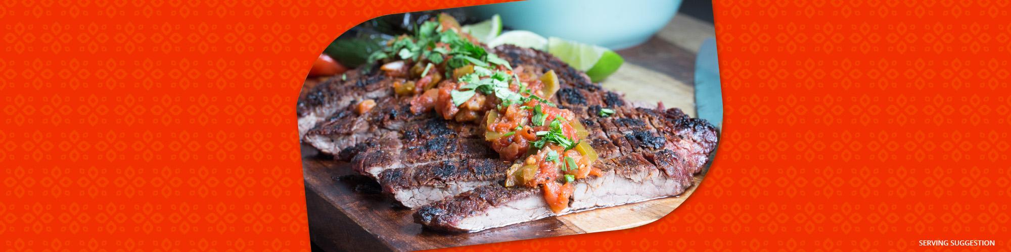 Salsas carne asada tacos