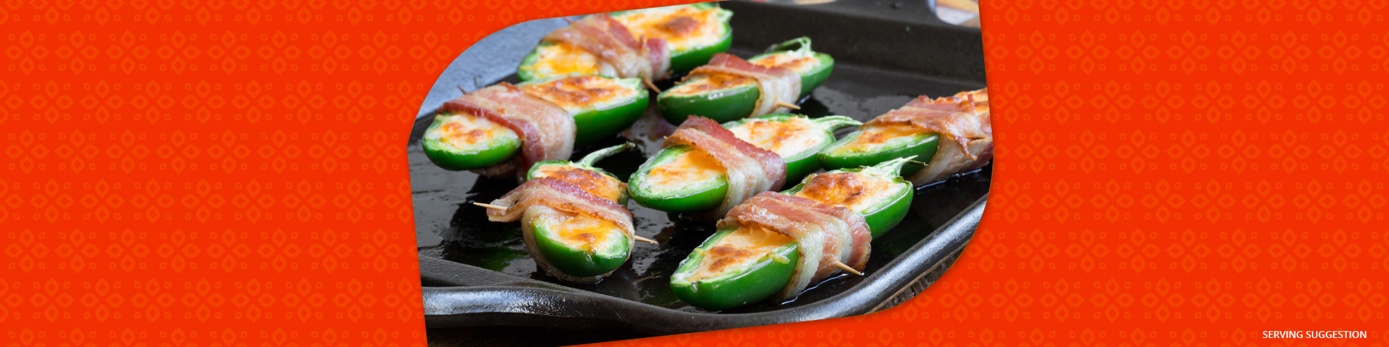 Salsas bacon wrapped jalapeno poppers