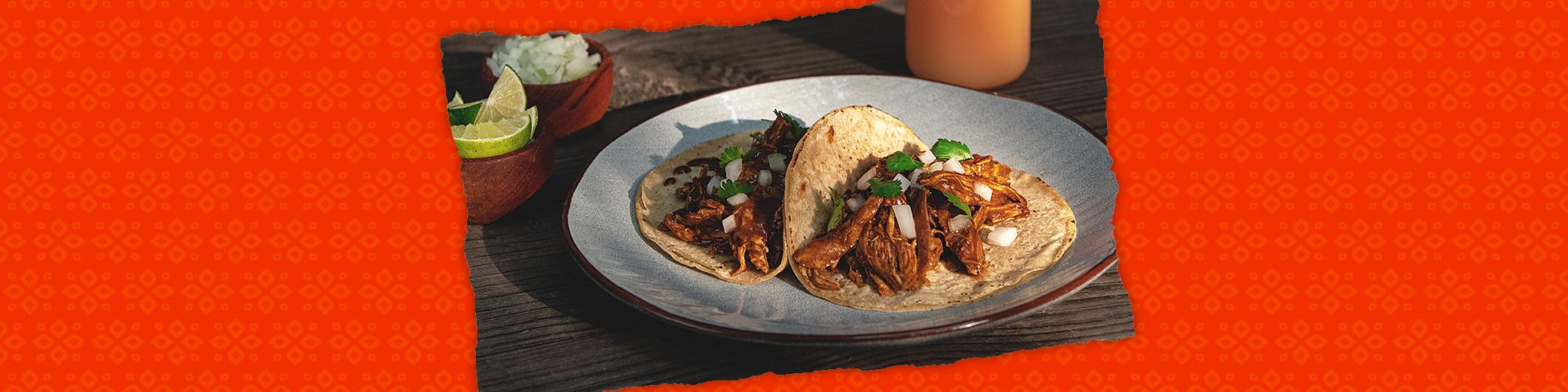 Salsas chicken tacos