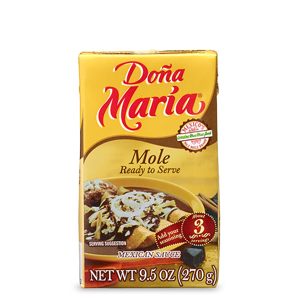 DOÑA MARÍA® Mole Ready to Serve