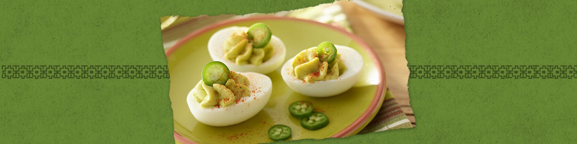 Salsas guacamole salsa deviled eggs