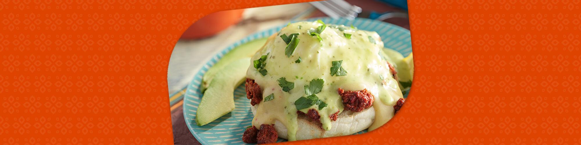 Salsas mexican eggs benedict