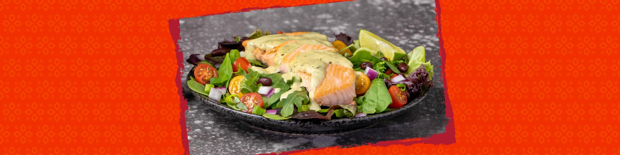Salsas salmon cremosa