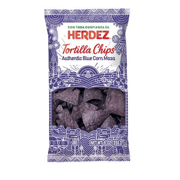 Herdez Chips Blue Corn 3D