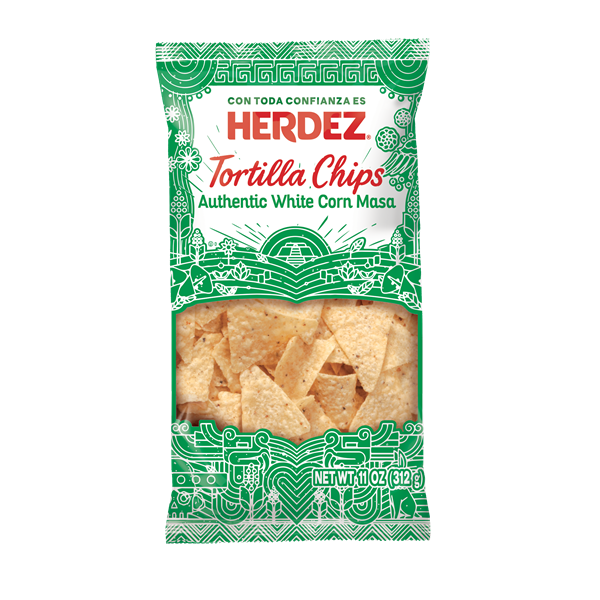 Herdez Chips White Corn 3D