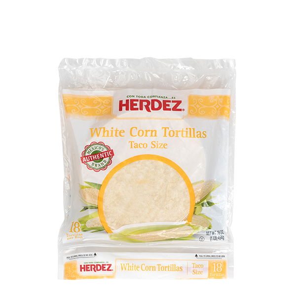 HERDEZ® Corn Soft Taco Tortillas