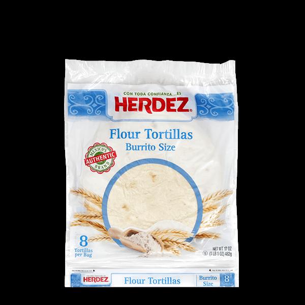 HERDEZ® Flour Burrito Tortillas
