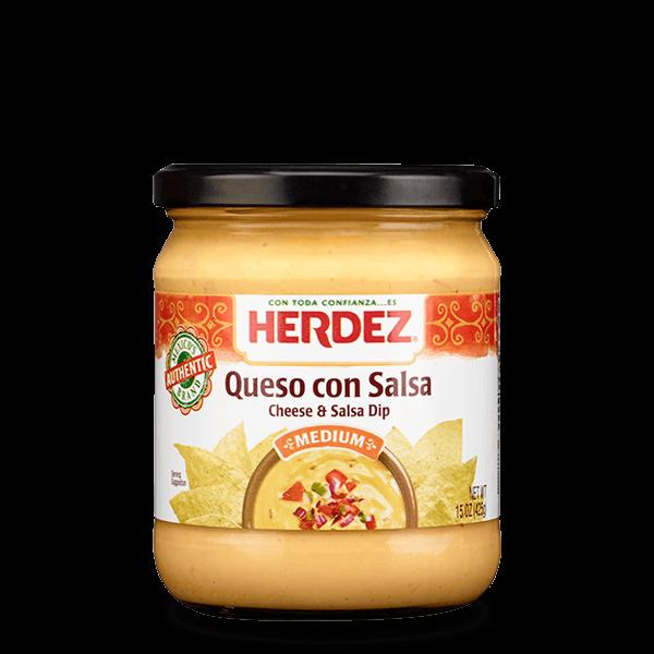 HERDEZ® Queso con Salsa Queso Dip Medium