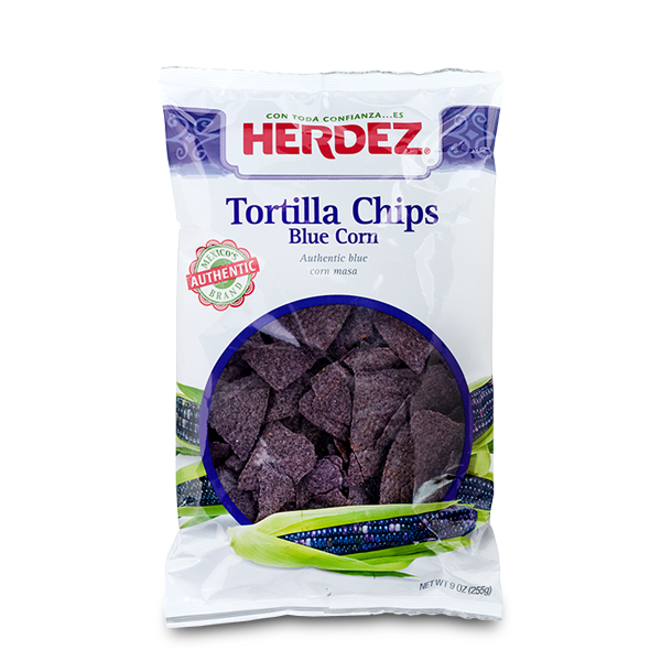 HERDEZ® Blue Corn Tortilla Chips