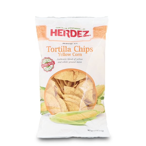 HERDEZ® Yellow and White Corn Masa Tortilla Chips
