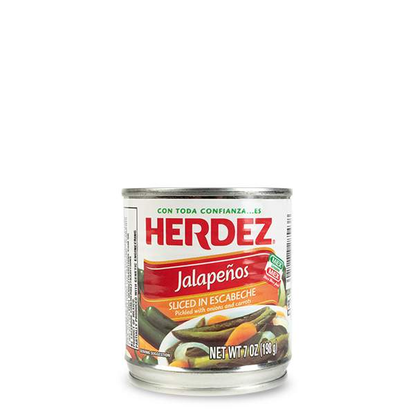 HERDEZ® Sliced Jalapeno Chiles
