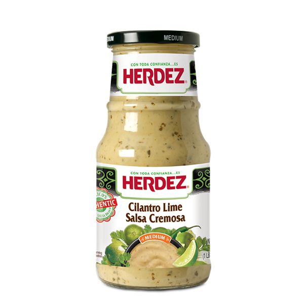 HERDEZ® Cilantro Lime Salsa Cremosa