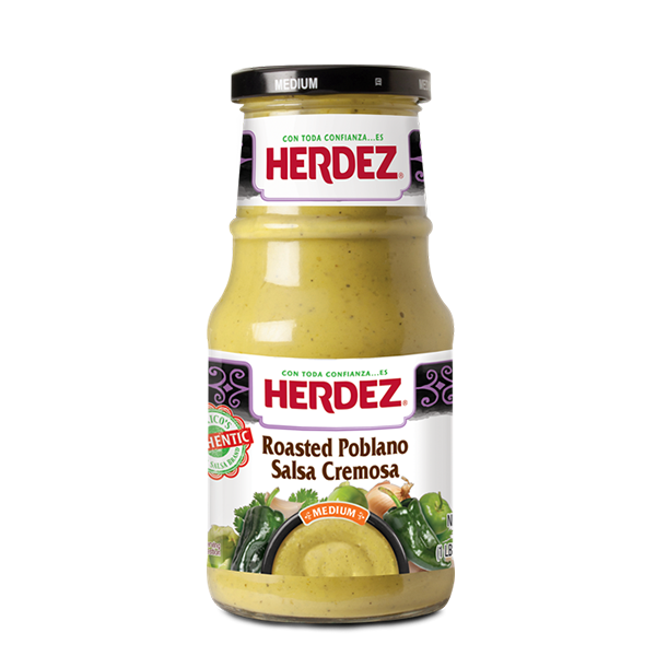 HERDEZ® Roasted Poblano Salsa Cremosa