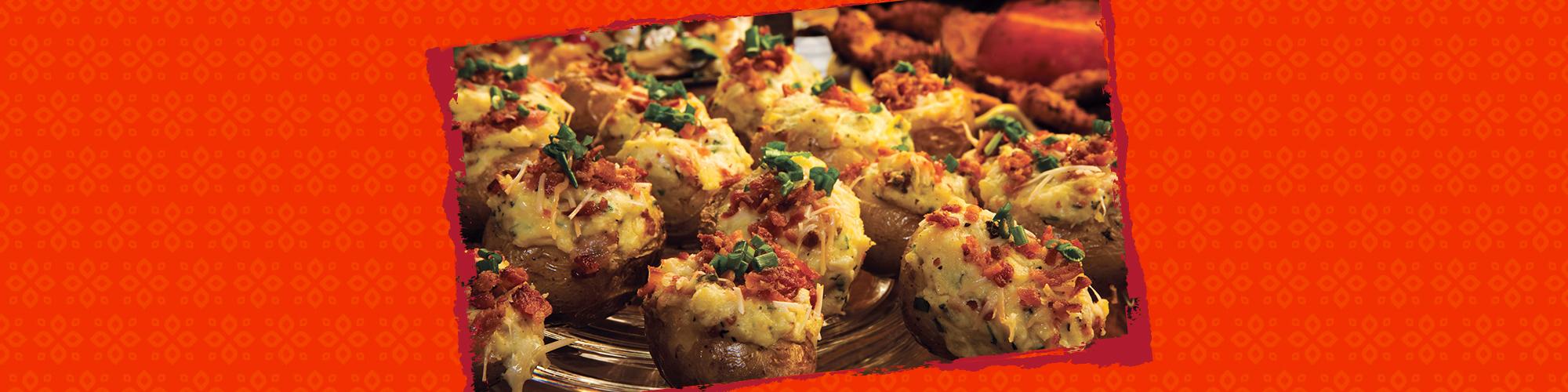 Salsas twice baked potatoes