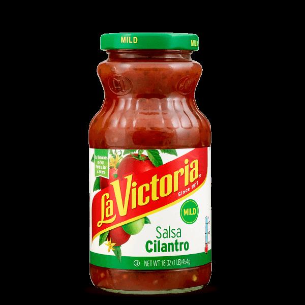 LaVictoria_Products_Salsa_Cilantro_Mild_16oz