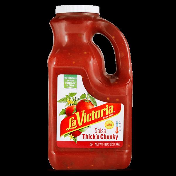 LA VICTORIA® Thick 'n Chunky Salsa Medium
