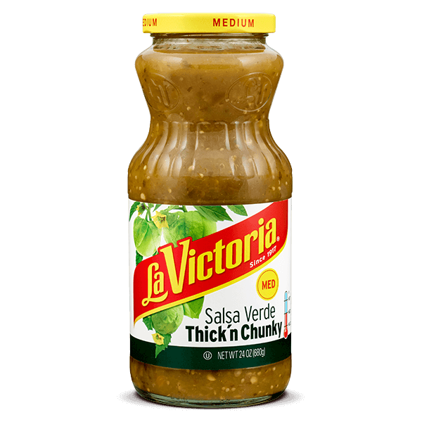 LA VICTORIA® Thick 'n Chunky Salsa Verde Medium