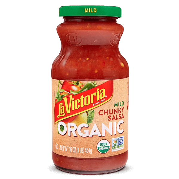 La_Victoria_Products_Salsa_Organic_Chunky_Salsa_Mild