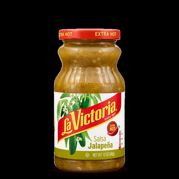 LA VICTORIA® Green Salsa Jalapeña Extra Hot