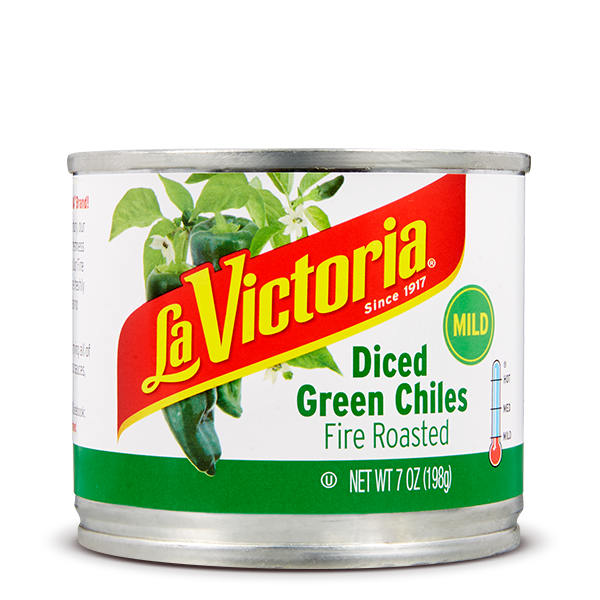 LA VICTORIA® Fire Roasted Diced Green Chiles Mild