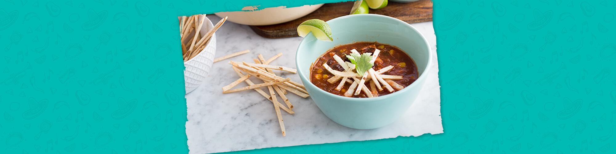 Salsas tortilla soup