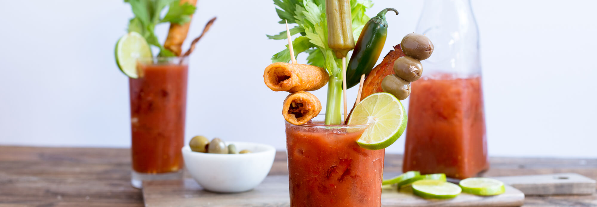 Salsas bloody mary