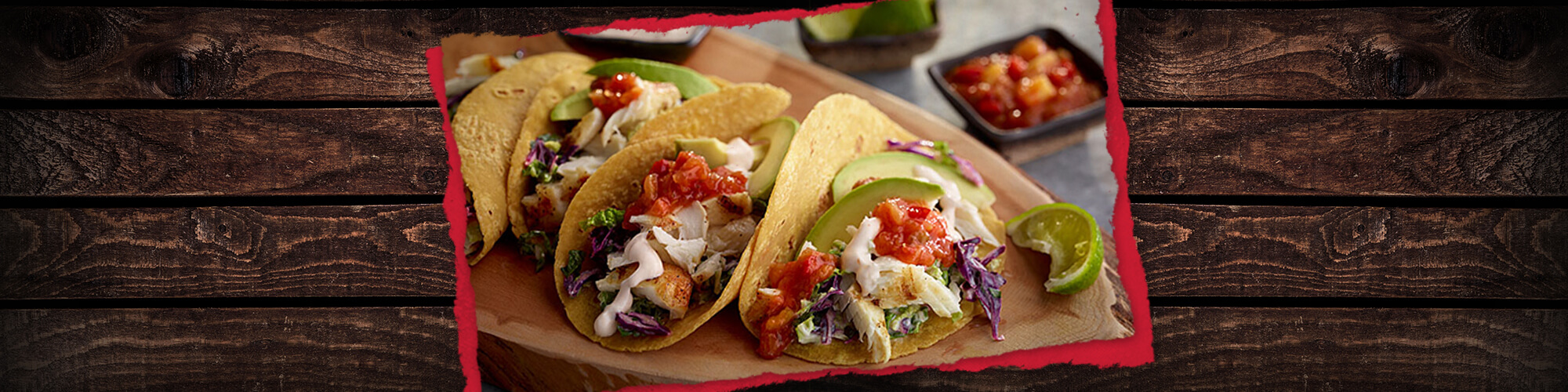 Salsas lime grilled fish tacos