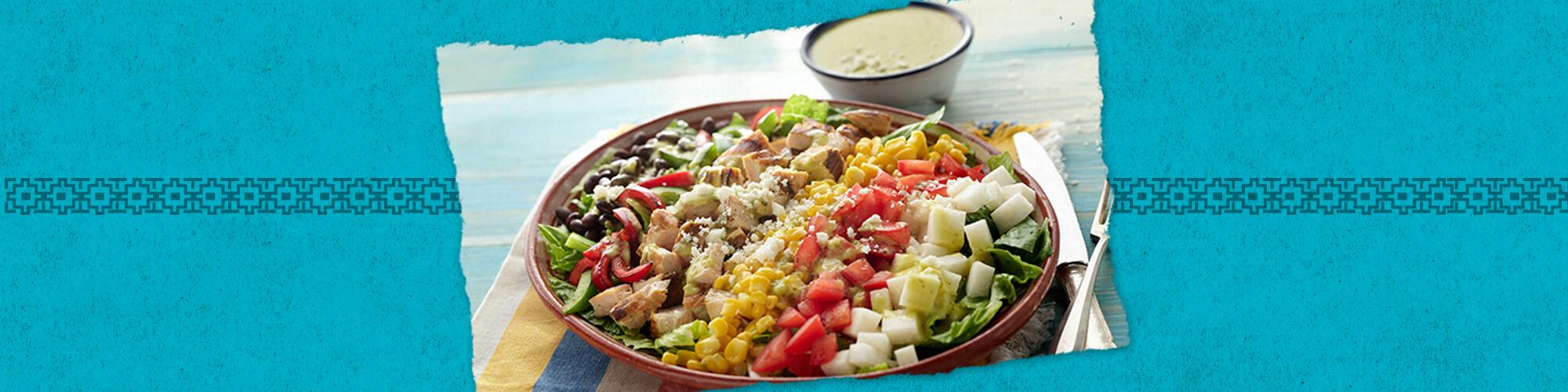 Salsas cobb salad