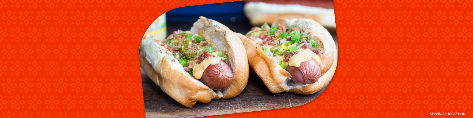 Salsas salsa con queso dogs