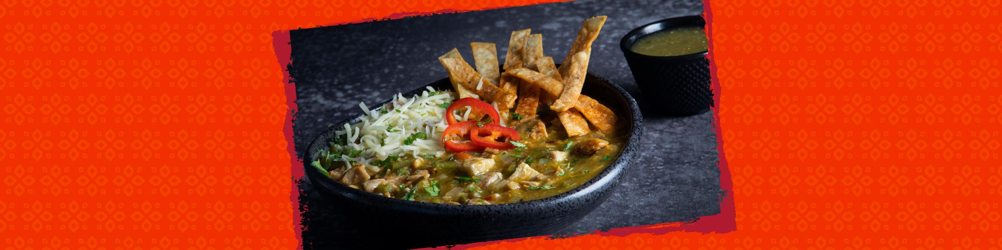 Salsas chicken chili verde