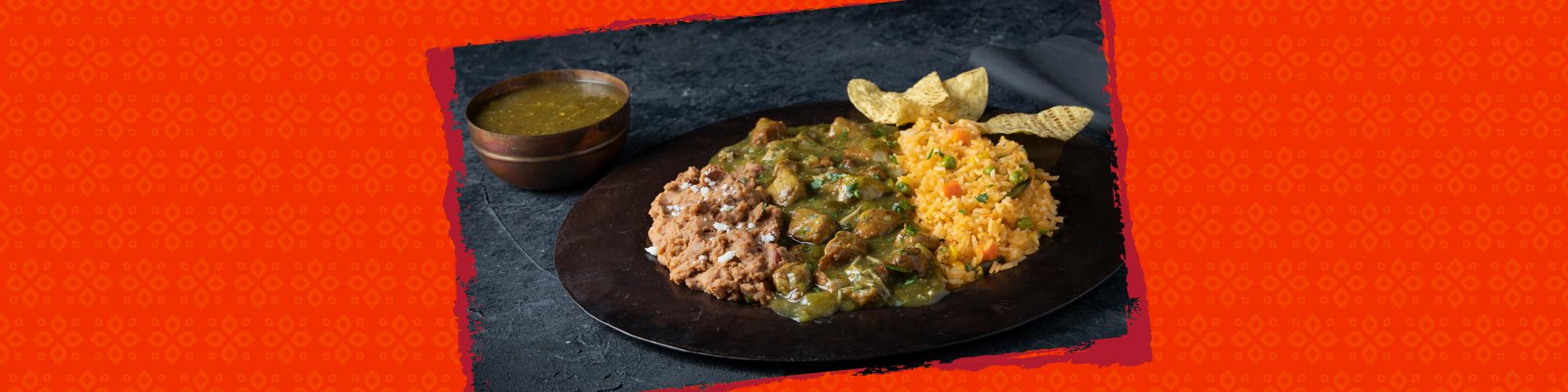 Salsas pork chile verde
