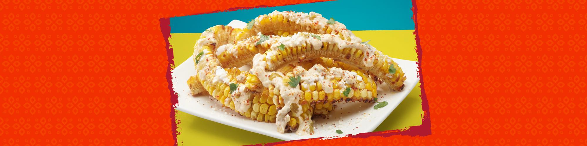 Salsas air fried corn ribs